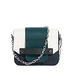 Parfois - Green suede cross bag