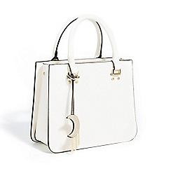 Parfois - Light cream yasmine shopper bag
