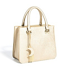 Parfois - Gold yasmine shopper bag