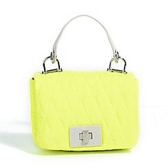 Parfois - Hand bag nylon cross yellow