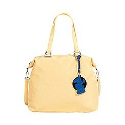 Parfois - Yellow nylon shopper bag