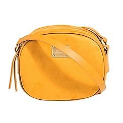 Parfois - Mustard yellow basic cross bag