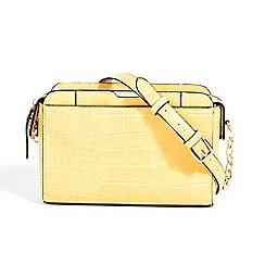 Parfois - Mustard animal embossed cross bodybag