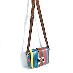 Parfois - Blue cross hand bag
