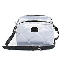 Parfois - Silver clinic nylon cross bag