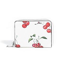 Parfois - White estampado coin purse
