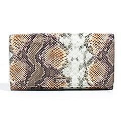 Parfois - Yellow glasses case nylon wallet