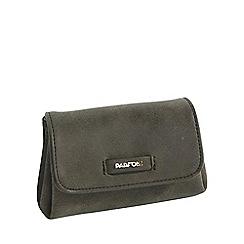 Parfois - Khaki coin purse fake chamois wallet