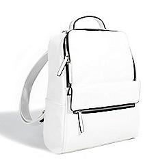 Parfois - White picnic plain backpack
