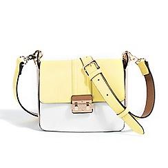 Parfois - Plain cross yellow handbag