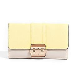 Parfois - Yellow liso wallet