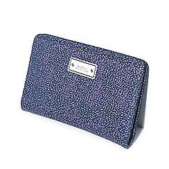 Parfois - Purple document holder estampado wallet