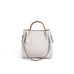 Parfois - Cream luna shopper bag