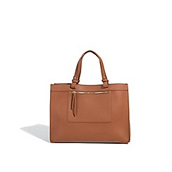 Parfois - Brown circus shopper bag
