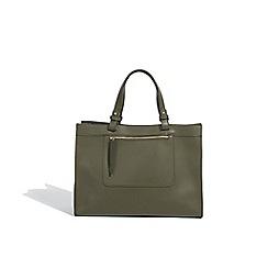 Parfois - Khaki Circus shopper bag