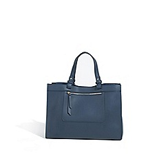 Parfois - Navy blue circus shopper bag