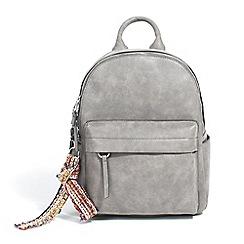 Parfois - Grey botanic jacky backpack