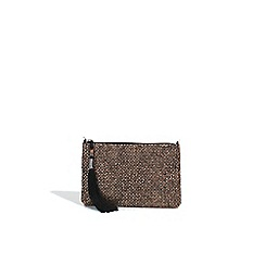 Parfois - Metallic tanger party clutch