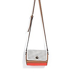 Parfois - Orange night tracar phantasie cross body bag
