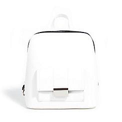 Parfois - White la maison backpack