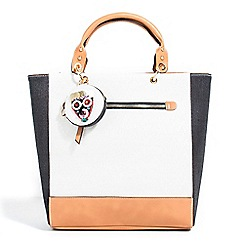 Parfois - White boscono handbag