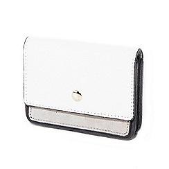 Parfois - White minimal document wallet