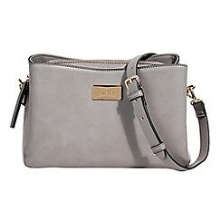 Parfois - Pale grey Essential cross bag