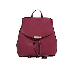 Parfois - Wine palma backpack