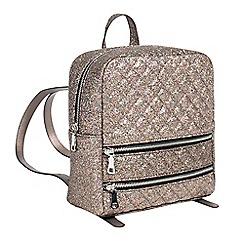 Parfois - metallic funcky backpack