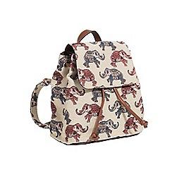Parfois - Beige sambia backpack | online exclusive