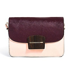 Parfois - Purple minimal cross bag