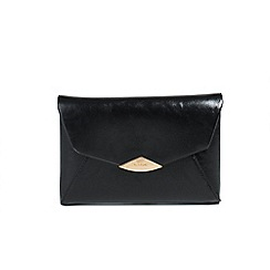Parfois - Black Trapeze clutch bag