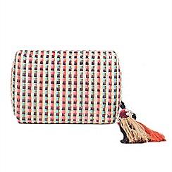 Parfois - Multicolour Ochre clutch bag