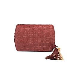 Parfois - Wine red Ochre clutch bag