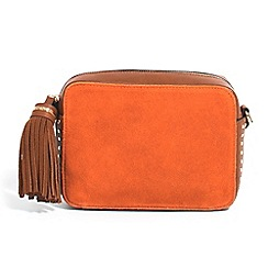 Parfois - Orange Itaca cross bag