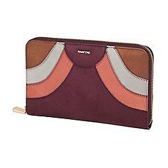 Parfois - Dark red retro wallet