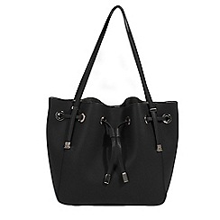 Parfois - Black Camomila handbag