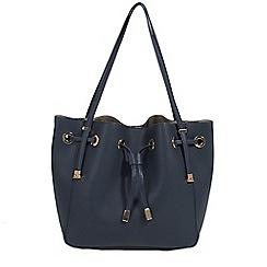 Parfois - Navy Camomila handbag