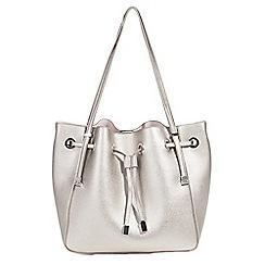 Parfois - Silver Camomila handbag