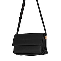 Parfois - Black glam flower cross bag