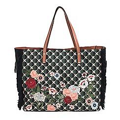 Parfois - Multicoloured glam flower handbag