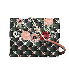 Parfois - Multicoloured glam flower crossbody bag