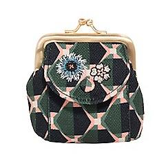 Parfois - Multicoloured glam flower wallet
