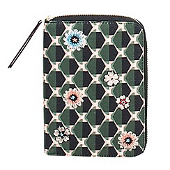 Parfois - Multicoloured glam flower notebook