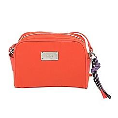 Parfois - Orange orange nylon cross body bag