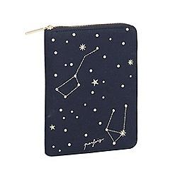 Parfois - Navy blue bellatrix notebook