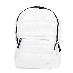 Parfois - White gym backpack