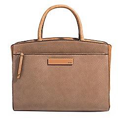 Parfois - Camel massima shades briefcase