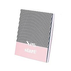 Parfois - Pink doll notebook