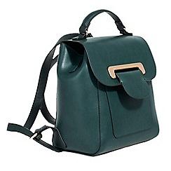 Parfois - Green english heritage backpack